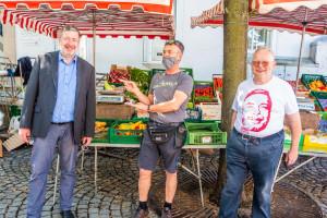 Straßenwahlkampf Bundestagswahl 2021