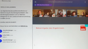 Online-Bundeswahlkreiskonferenz 239 Hof